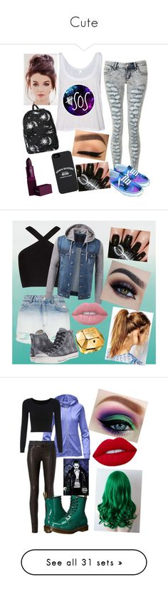 """""""Cute"""" by lishi200213 ❤ liked on Polyvore featuring Motel, Lipstick Queen, Deepa Gurnani, BCBGMAXAZRIA, Topshop, Converse, Lime Crime, Paco Rabanne, The North Face and rag & bone"""