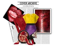 """""""Rich Color Of Change"""" by konata-phenomenalstyle ❤ liked on Polyvore featuring Alexander McQueen, Jil Sander, FAUSTO PUGLISI, Gianvito Rossi and Christian Louboutin"""
