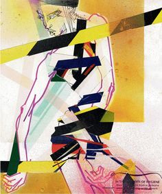 Preen SS/15 illustrated by Julie Verhoeven.