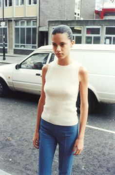 """fall4:  """" Adriana Lima in Juergen Teller Go-Sees  """""""