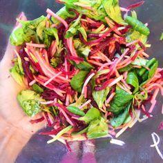 Recette détox: salade de mâche et betterave à la pomme   The Wellness Nutritionista
