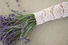 Lace Wedding Flowers