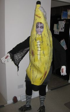 Funny and Different Zombie Banana Man Costume | Pinterest | Homemade costumes Costume contest and Costumes & Funny and Different Zombie Banana Man Costume | Pinterest | Homemade ...
