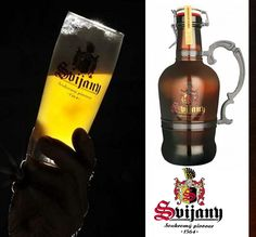 Svijany beer from the town of the same name (brewery founded East Bohemia, Czechia Brewery, Red Wine, Alcoholic Drinks, Traditional, Bohemia, Alcoholic Beverages, Liquor, Alcohol Mix Drinks
