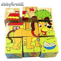 Puzzles Toys & Hobbies Generous Kids 3d Puzzles Fruit Ainmal Traffic Wooden Toys For Children Learning Cartoon Intelligence Children Early Educational Toys