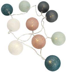 Světelný řetěz KAARE pastel.barvy 10 LED | JYSK