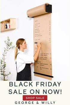Diy Rangement, Signage Design, Home Living, My New Room, Home Organization, Minimalist Design, Home Kitchens, Home Office, Home Goods