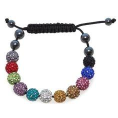 Colorful Shamballa Bracelet
