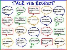 accountable talk: talk with
