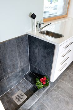 utility room with shower and toilet . utility and shower room . shower in utility room . utility room with shower ideas Boot Room, Wet Rooms, Room, House, Laundry Mud Room, Home, Garage Decor, Small Utility Room, Dog Washing Station
