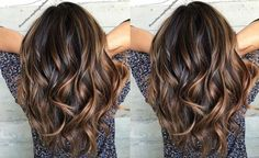 Hair Highlights - Among the most fashionable hair color in 2016 is the shaded caramel hair. Blonde Caramel Highlights, Balayage Caramel, Brown Hair Balayage, Brown Ombre Hair, Caramel Hair, Hair Highlights, Blonde Hair, Ombre Balayage, Hair Color Auburn