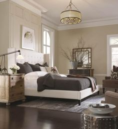 Our members LOVE this master bedroom setup!
