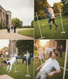 outdoor wedding games | Outdoor Wedding Reception Activity Ideas