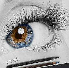 The Secrets Of Drawing Realistic Pencil Portraits - . Secrets Of Drawing Realistic Pencil Portraits - Discover The Secrets Of Drawing Realistic Pencil Portraits Pencil Drawing Tutorials, Art Tutorials, Pencil Drawings, Art Drawings, Pencil Sketching, Charcoal Drawings, Drawing Sketches, Realistic Eye Drawing, Drawing Eyes