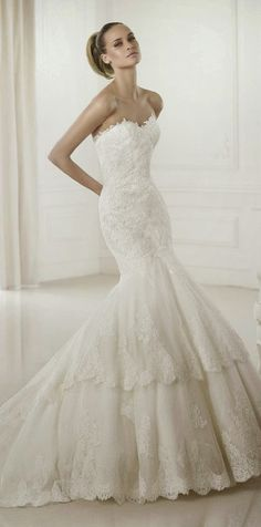 Pronovias 2015 Wedding Dresses Collection Part 2 ~ GLOWLICIOUS