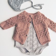 love this little knit cardi