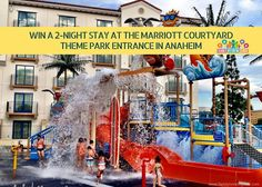 Blogiversary Day 1: Win a two night stay at the Anaheim Courtyard Theme Park Hotel and Waterpark + a $20 gift card to Pizza Press. This hotel is directly across from Disneyland!