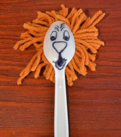 Daniel and the Lion's Den Daniel 6 The children made these lions from plastic spoons.  I had pre-cut the yarn. The children drew a ...
