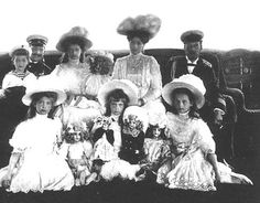 The last Czar of Russia and all his family including Anastasia