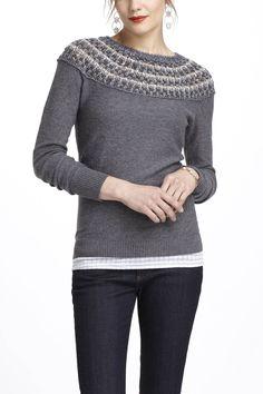 Summer's Fog Sweater | Anthropologie.com