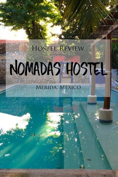 Hostel Review: Nomadas Hostel in Merida, Mexico >> Nomadas Hostel is a charming, simple and colourful hostel located in the historic centre of Merida in Mexico's Yucatan Peninsula. The hostel has a laid-back, relaxed, friendly and social atmosphere. It is the perfect place to stay for independent, budget-friendly travelers to Merida! Check out my detailed review to read about my experience and see my photos!