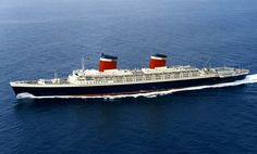 SS United States ......Blue Riband, prestige stately class, gracefulness… a true ocean liner now just a memory. Hopefully this great ship will be saved.