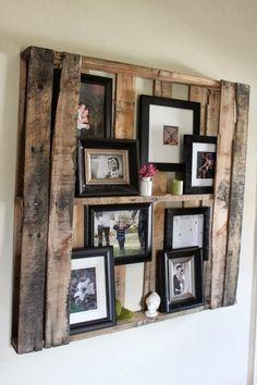 As velhas paletes de madeira podem ser recicladas e reutilizadas de várias formas; Podem ser transformadas em armários para guardar todo o tipo de coisas,