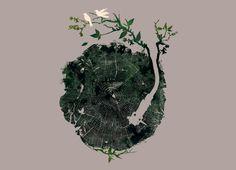 """Nature's Choir"" - Threadless.com - Best t-shirts in the world"