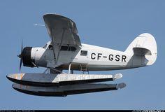 Noorduyn Norseman V ~ GSR Flying Overhead During The Norseman Fly-by During Norseman Days In Red Lake.