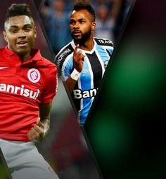 Vitinho e Fernandinho vão de refugos a solução ofensiva para dupla Gre-Nal #globoesporte
