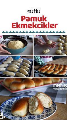 Sütlü Pamuk Ekmekcikler (Milchbrötchen Original) Tarifi nasıl yapılır? 7.885 kişinin defterindeki bu tarifin resimli anlatımı ve deneyenlerin fotoğrafları burada. Yazar: ay derya Turkish Recipes, Homemade Beauty Products, Doughnut, Food To Make, Muffin, Food And Drink, Bread, Cooking, Breakfast
