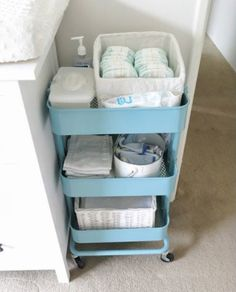 Raskog by Ikea 15 ways this fantastic utility cart can organize your small space here. #100Things2Do #Raskog #utilitycart #smallspaceorganization