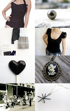 Black Celebration by Jeannette--Pinned with TreasuryPin.com