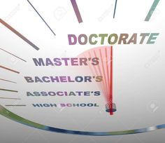 List of doctorate degrees