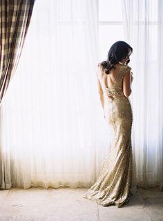 Provence destination wedding shoot, Le Hameau Des Baux, gorgeous gown by Zahavit Tshuba