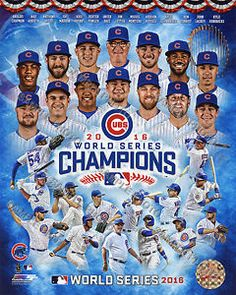 Chicago Cubs 2016 World Series Champions Canvas Officially licensed by the MLB and the Chicago Cubs. Team Photos, Sports Photos, Dodgers, World Series 2016, Cubs Players, Softball Players, Chicago Cubs World Series, Chicago Cubs Baseball, Champs