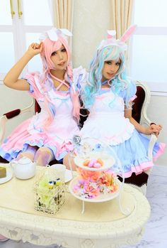 AoiDon Original maid Cosplay Photo - Cure WorldCosplay