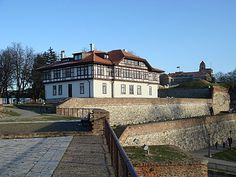 Traditional style 18th century Serbian house (Institute for the Protection of Cultural Heritage of Serbia).