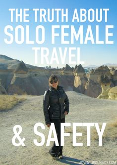 I've built a career out of encouraging women to travel the world alone. Part of that has been combating the ridiculous misinformation out there and showing you, through my experiences, how safe the world can be when you take steps to protect yourself.