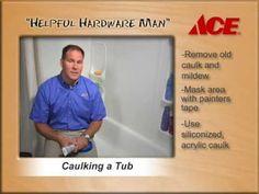 How to Caulk a Tub - Ace Hardware