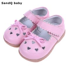9ec3350cfa9 2017 Summer Children Genuine Leather Sandals Hollow Out Girls Flats  Breathable Kids Sandals Heart Shaped Girls Princess Shoes-in Sandals from  Mother   Kids ...