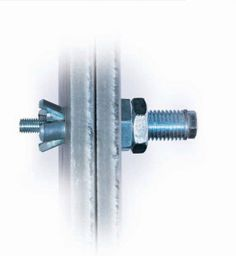 Expansion Bolts for Hollow Structural Steel Sections Steel Frame Construction, Timber Structure, Shipping Container Homes, The Expanse, Architecture Details, Drill, Welding Ideas, Fasteners, Connection