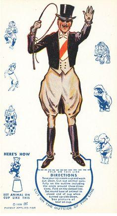 Image result for ringmaster historical vintage