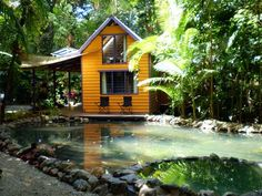 Tropical Getaway Tiny House | Tiny House Pins in Australia