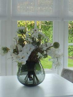 Zijde bloemen boeket