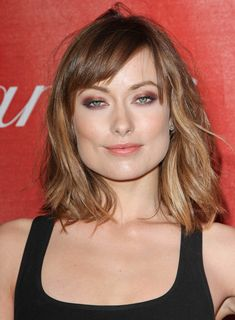 olivia wilde: short hair + amazing eyeshadow = why megan fox wants to strangle an ox with her bare hands