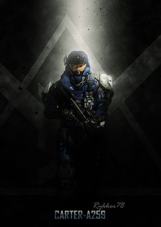 from Halo Space Poster Print Halo Game, Halo 5, Unsc Halo, Halo Poster, Halo Cosplay, Sci Fi Wallpaper, Halo Armor, Halo Spartan, Halo Collection