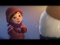 """Watch this beautiful and heartwarming short called """"Lily and the Snowman"""" {Make time for what you love - a most important lesson.] Featuring a lovable snowman and what he endures to love a family Film Gif, Film D'animation, Video Film, French Songs, French Movies, Happy Gif, Movie Talk, French Christmas, Kindergarten"""