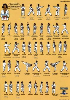Diagramme poomse Master Self-Defense to Protect Yourself Taekwondo Kids, Taekwondo Belts, Taekwondo Training, Tae Kwon Do, Taekwondo Techniques, Martial Arts Techniques, Korean Martial Arts, Mixed Martial Arts, Wing Chun