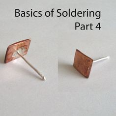 Basics of Soldering Part 4 | JewelryLessons.com